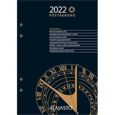 Pöytäkrono-vuosipaketti  2022 pöytäkalenteri - Ajasto