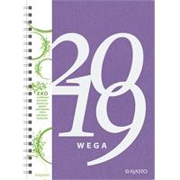 Wega Eko 2019 lila pöytäkalenteri