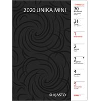 Unika mini 2020 taskukalenteri - Ajasto