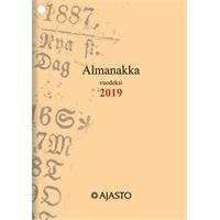Almanakka A6 2019 taskukalenteri