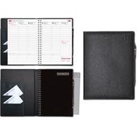 Viikkomuistio Plus 2020 musta pöytäkalenteri - CC Kalenteripalvelu