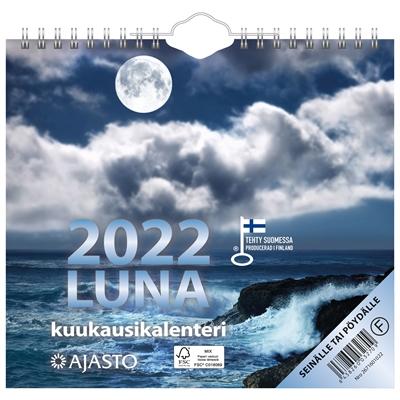 Luna  2022 seinäkalenteri - Ajasto