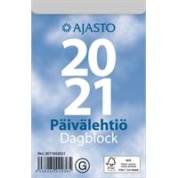 Päivälehtiö/Dagblock 2021 seinäkalenteri - Ajasto