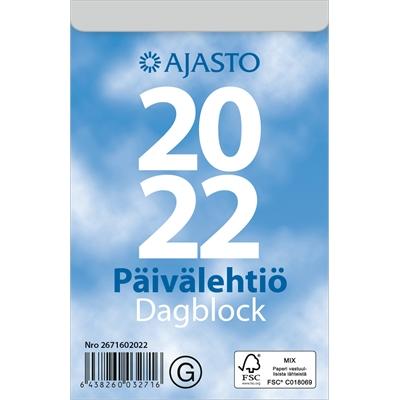 Päivälehtiö/Dagblock  2022 seinäkalenteri - Ajasto