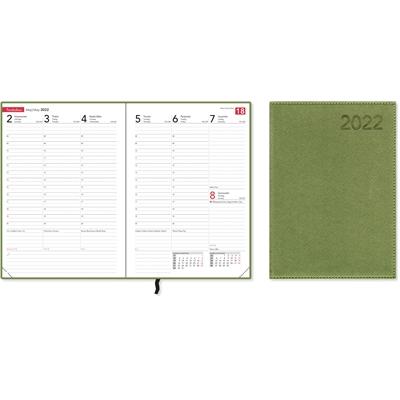 Compact Trend, green 2022 pöytäkalenteri - CC Kalenterit