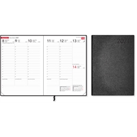 Compact Trend 2021 musta pöytäkalenteri - CC Kalenterit