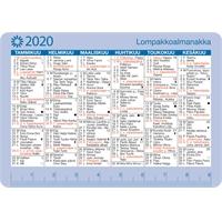 Lompakkoalmanakka 2020 taskukalenteri - Ajasto