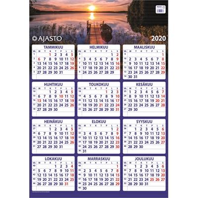 Maxi 2020 seinäkalenteri - Ajasto