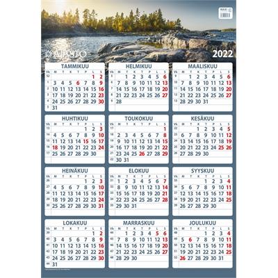 Maxi  2022 seinäkalenteri - Ajasto