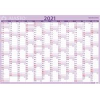 Seinämuistio 2021 taulukkokalenteri - Ajasto