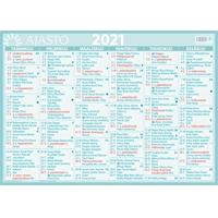 Suuri seinäalmanakka 2021 seinäkalenteri - Ajasto