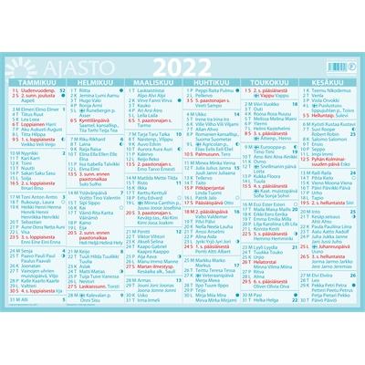 Suuri seinäalmanakka 2022 seinäkalenteri - Ajasto