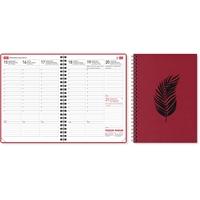 EkoViikkomuistio 2021 punainen pöytäkalenteri - CC Kalenterit
