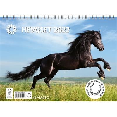 Hevoset 2022 seinäkalenteri - Ajasto