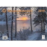 Maisemakalenteri 2019 seinäkalenteri