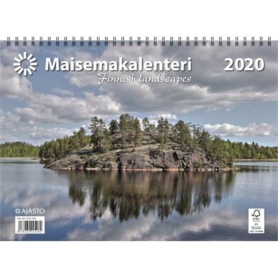 Maisemakalenteri 2020 seinäkalenteri - Ajasto