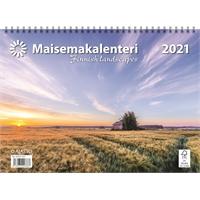 Maisemakalenteri 2021 seinäkalenteri - Ajasto