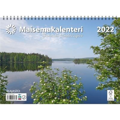 Maisemakalenteri  2022 seinäkalenteri - Ajasto