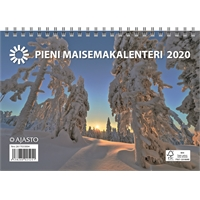 Pieni maisemakalenteri 2020 seinäkalenteri - Ajasto