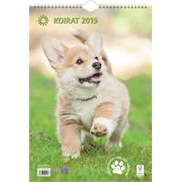 Koirat 2019 seinäkalenteri