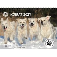 Koirat 2021 seinäkalenteri - Ajasto
