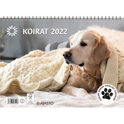Koirat  2022 seinäkalenteri - Ajasto
