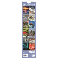 Kotimuistio/Hemkalendern 2020 seinäkalenteri - Ajasto