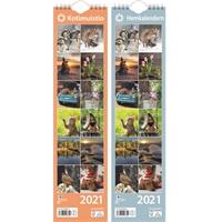 Kotimuistio/Hemkalendern 2021 seinäkalenteri - Ajasto