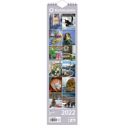 Kotimuistio/Hemkalendern  2022 seinäkalenteri - Ajasto