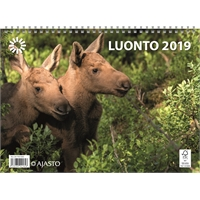 Luonto 2019 seinäkalenteri