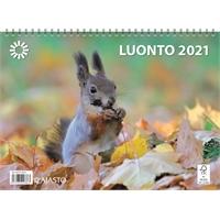 Luonto 2021 seinäkalenteri - Ajasto