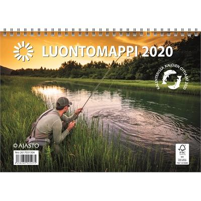 Luontomappi 2020 seinäkalenteri - Ajasto