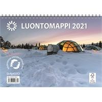 Luontomappi 2021 seinäkalenteri - Ajasto