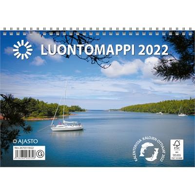 Luontomappi 2022 seinäkalenteri - Ajasto