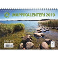 Mappikalenteri 2019 seinäkalenteri