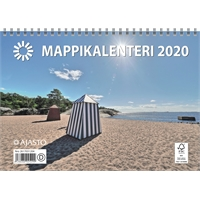 Mappikalenteri 2020 seinäkalenteri - Ajasto