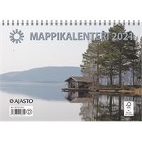 Mappikalenteri 2021 seinäkalenteri - Ajasto