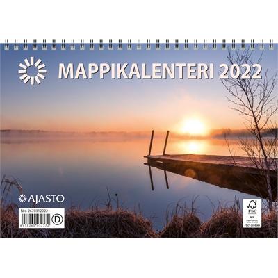 Mappikalenteri  2022 seinäkalenteri - Ajasto
