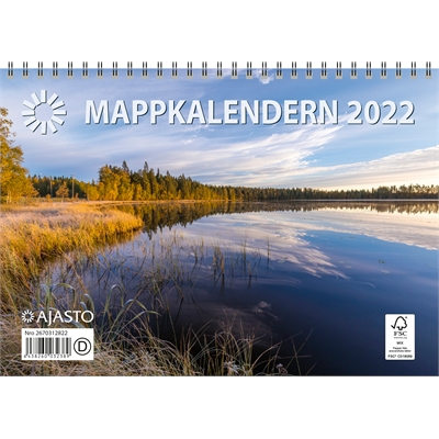Mappkalendern  2022 seinäkalenteri - Ajasto
