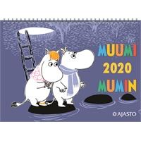 Muumikalenteri 2020 seinäkalenteri - Ajasto