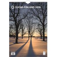 Suomi A3 2019 seinäkalenteri