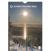 Suomi A3 2020 seinäkalenteri - Ajasto