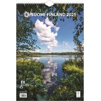 Suomi A3 2021 seinäkalenteri - Ajasto