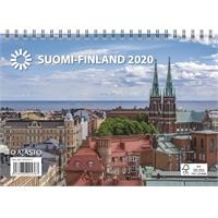 Suomi A5 2020 seinäkalenteri - Ajasto