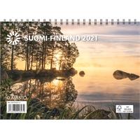 Suomi A5 2021 seinäkalenteri - Ajasto