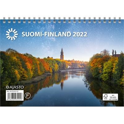 Suomi A5 2022 seinäkalenteri - Ajasto