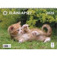 Eläinlapset 2020 seinäkalenteri - Ajasto
