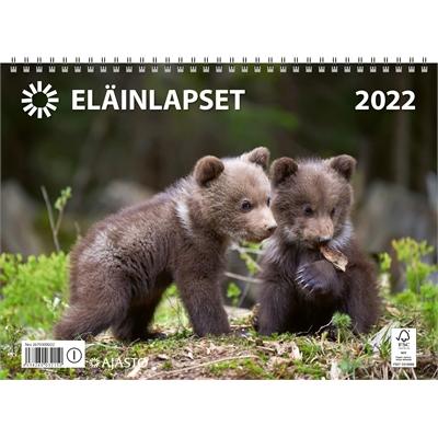 Eläinlapset  2022 seinäkalenteri - Ajasto