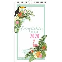 Tropiikin kukat 2020 seinäkalenteri - Ajasto