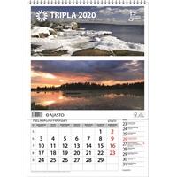 Tripla 2020 seinäkalenteri - Ajasto